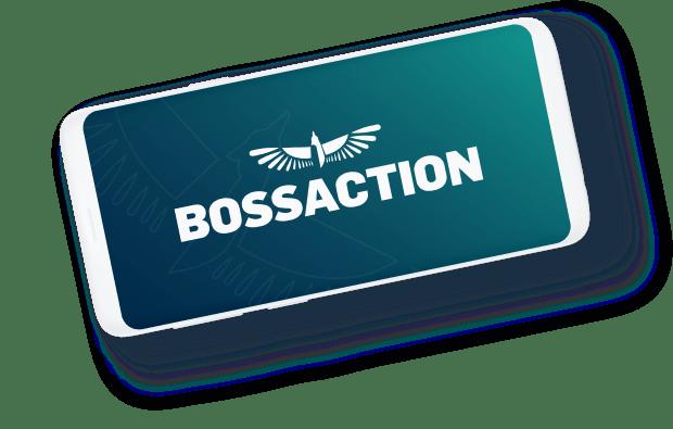 boss action- phone