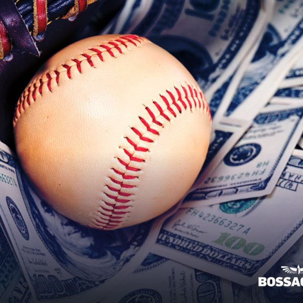Make Money Booking Baseball concept